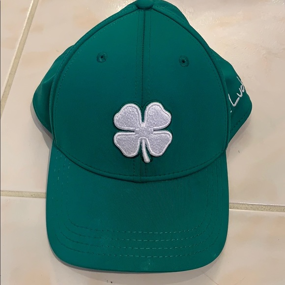 Live Lucky green hat L/XL